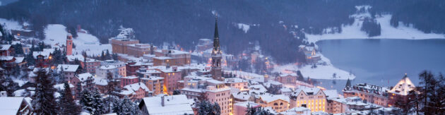 Schweiz St. Moritz Dorf Panorama skaliert