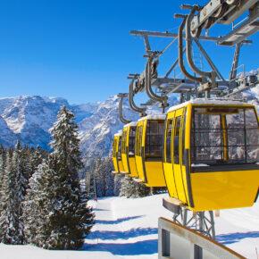 Skiurlaub für alle: Frankreich, Österreich & Schweiz z.B. 8 Tage mit Apartment, Spa & 6-Tages-Skipass ab 89€