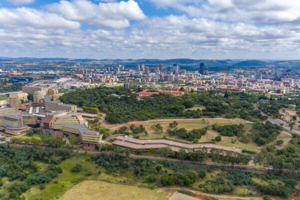 Südafrika Pretoria Skyline