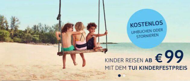 Tui Kinderfestpreis Aktion