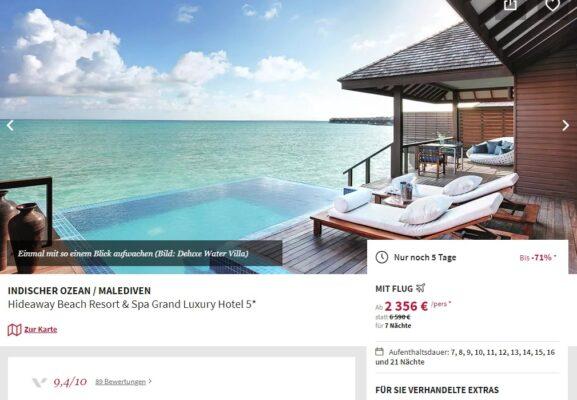 9 Tage Malediven