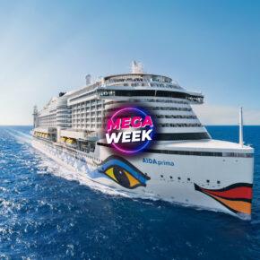 Kreuzfahrt: 7 Tage auf der AIDAsol durch's Mittelmeer inkl. Vollpension & Flug ab 499€