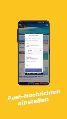Gewinnspiel App 5000€ - Schritt 2