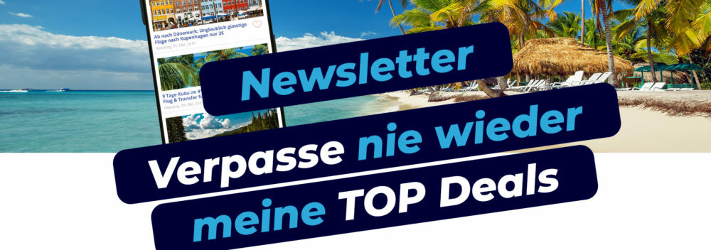 Deal Alarm: Newsletter abonnieren