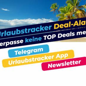 Urlaubstracker Deal-Alarm