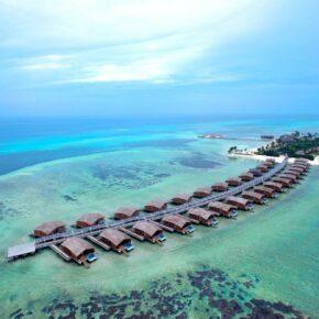 Club Med Finolhu Häuser