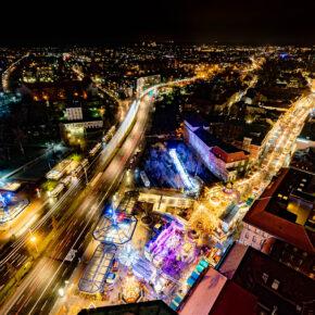 Deutschland Berlin-Weihnachtsmarkt Spandau