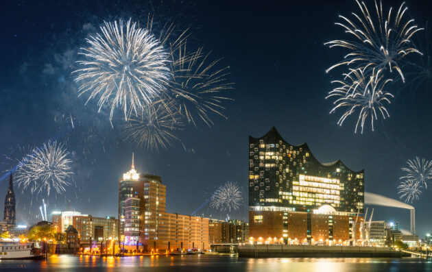 Silvester in Hamburg feiern