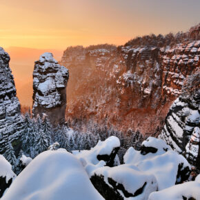 Sächsische Schweiz im Winter: 2 Tage im 3.5* Hotel inkl. Frühstück für 46€