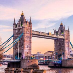 London über's Wochenende: 3 Tage mit zentraler TOP Unterkunft, Frühstück & Flug nur 84€