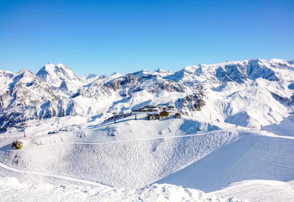 Frankreich Courchevel Ski