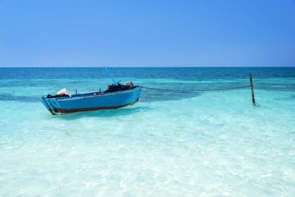 Kuba Cayo Levisa Boot Meer