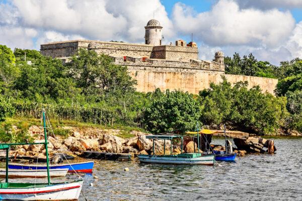 Kuba Cienfuegos Jagua Festung Bucht