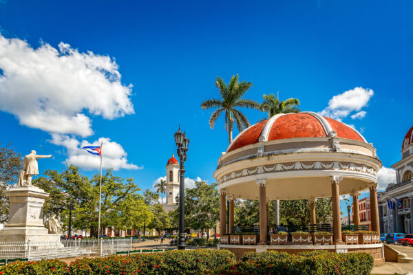 Kuba Cienfuegos Parque Jose Marti