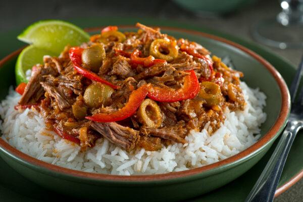 Kuba Essen Ropa Vieja