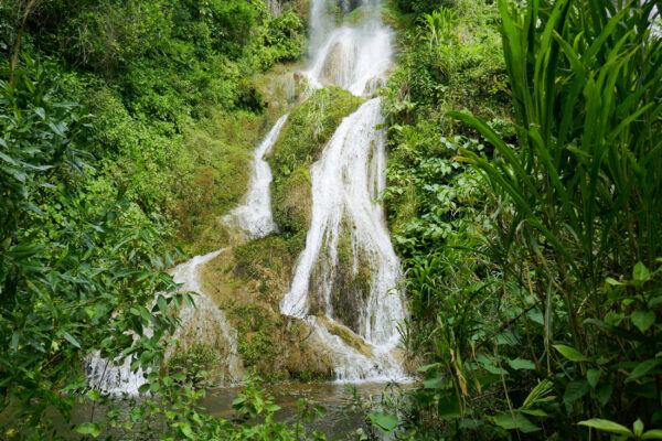 Kuba Guanayara Wasserfall
