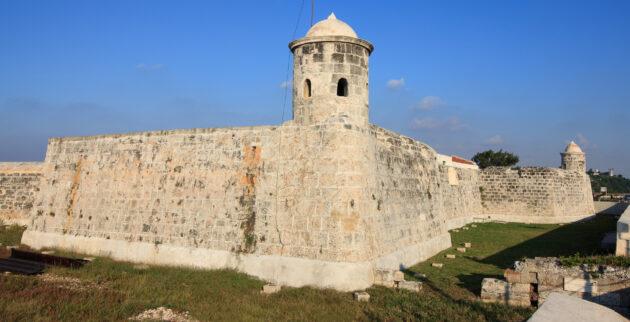 Kuba Havanna Festung San Salvador de la Punta