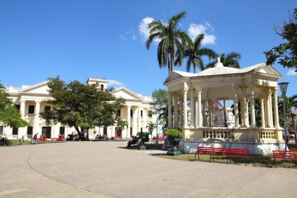 Kuba Santa Clara Hauptplatz