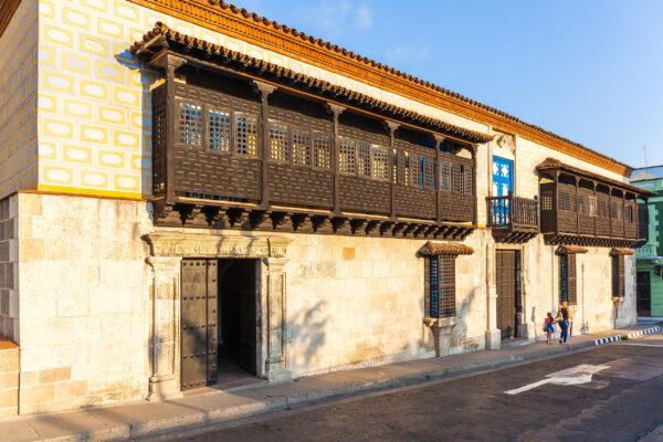 Kuba Santiago de Cuba Casa del Diego Velazquez