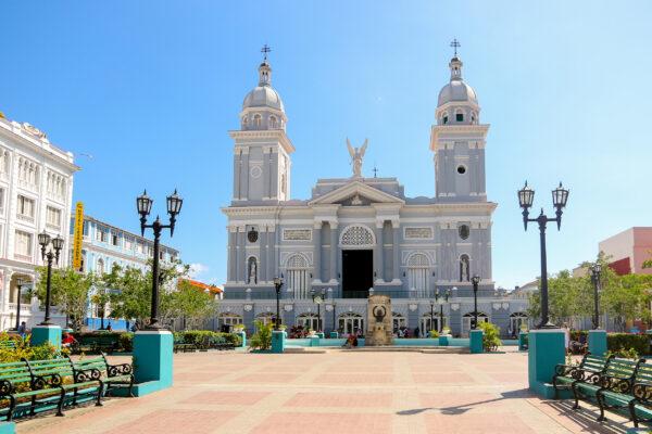 Kuba Santiago de Cuba Parque Cespedes