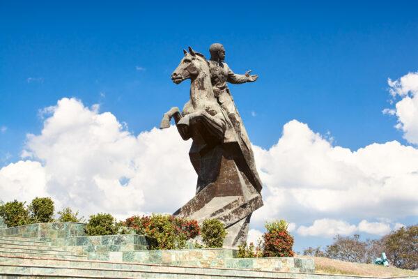 Kuba Santiago de Cuba Plaza Revolucion