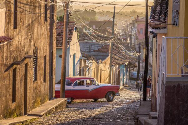 Kuba Trinidad Altstadt