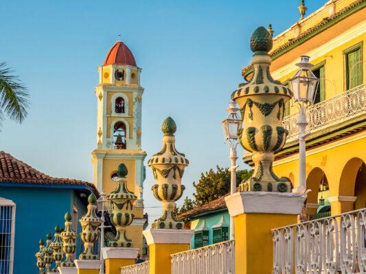 Kuba Trinidad Klosterturm