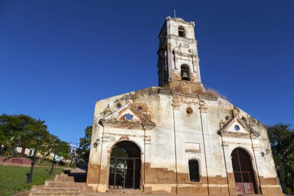 Kuba Trinidad Plaza Santa Ana