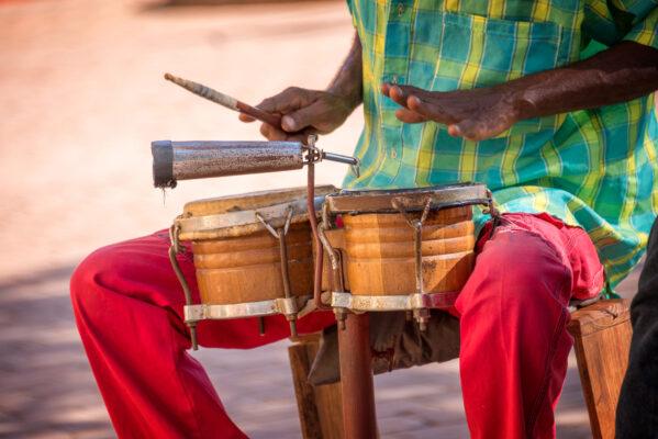 Kuba Trinidad Straßenmusik