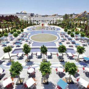 All Inclusive in der Türkei: 7 Tage im 5* Hotel mit Freizeit- & Aquapark inkl. Flug, Transfer & Zug nur 560€