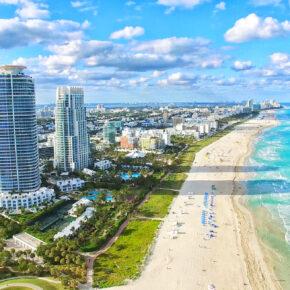Frühbucher-Partyurlaub in Miami: 8 Tage mit Unterkunft, Frühstück & Flug nur 286€