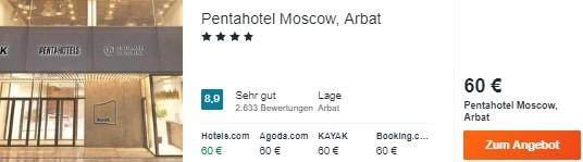 3 Tage Moskau