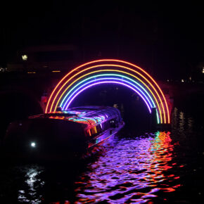 Amsterdam Light Festival Cruise inkl. Getränke-Flat für 14,99€