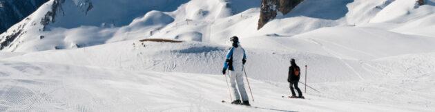 Österreich Ischgl Skifahren Panorama