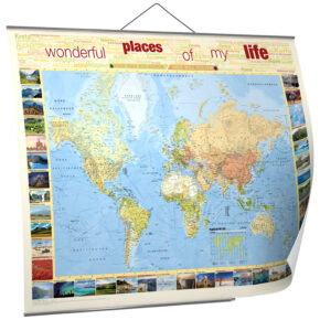 Places of my life: Spart 20% auf Eure Weltkarte