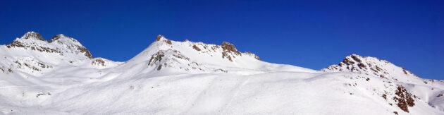 Schweiz St Moritz Skifahren Panorama
