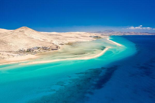 Spanien Fuerteventura Sotavento Strand