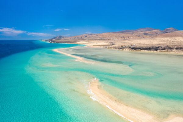 Spanien Fuerteventura Strand Sotavento