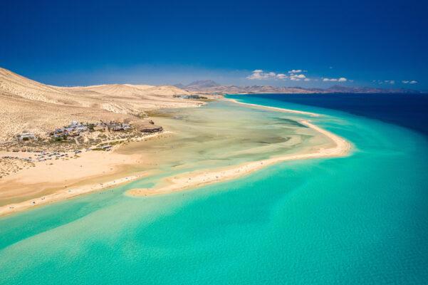 Spanien Fuerteventura Sotavento Beach