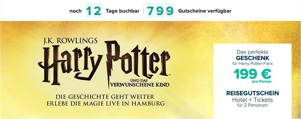 Travelcircus Gutschein Harry Potter