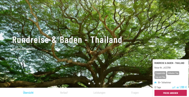 13 Tage Thailand
