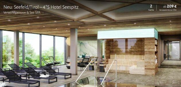 3 Tage See-Spa Tirol
