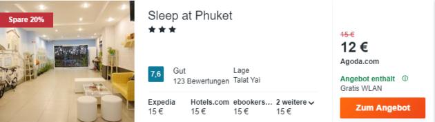 8 Tage Phuket