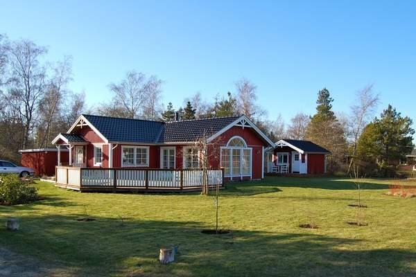 Dänemark Ferienhaus Asko Außenansicht