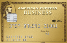 Amex Gold Business