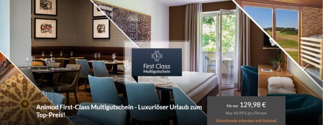 3 Tage Animod Schnäppchen Hotelgutschein