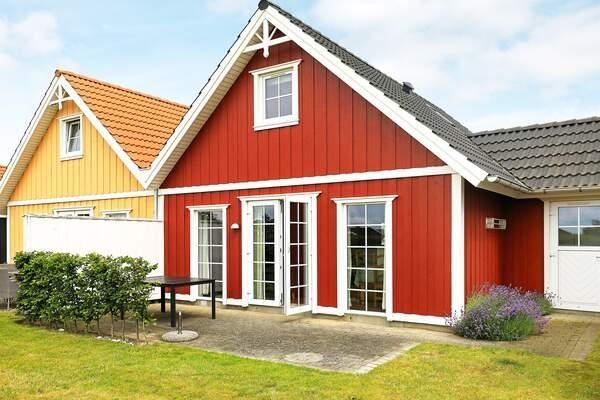 Dänemark Ferienhaus Bro Strand Außenansicht