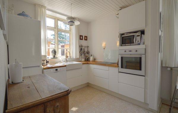 Dänemark Kragenaes Ferienhaus Küche