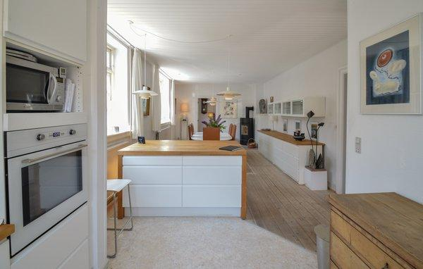 Dänemark Kragenaes Ferienhaus Wohn-Essbereich