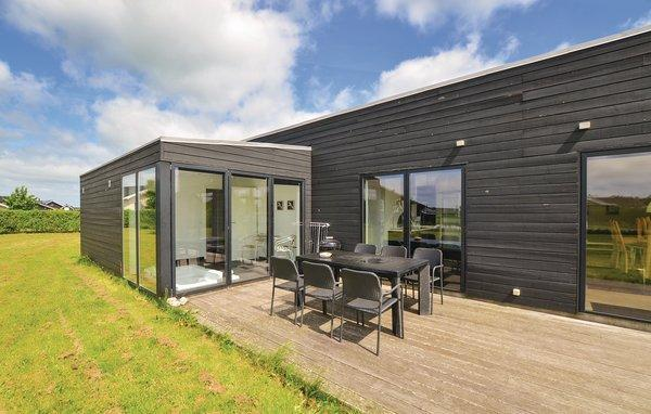Dänemark Skovmose Ferienhaus Terrasse